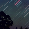 Shooting Star Trails, Meteors and Satellites