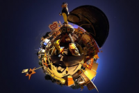 Be a Photography God: Creating Stereographic Planets