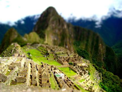 Machu Picchu by elkenoda
