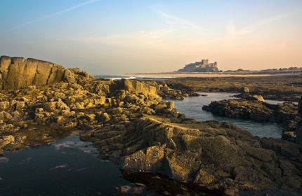 Bamburgh Castle by Graeme Pattison
