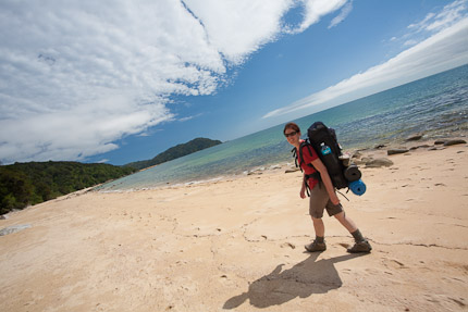 Beach Walking, Abel Tasman